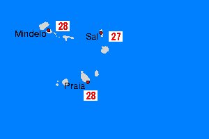 cape Verde temperature